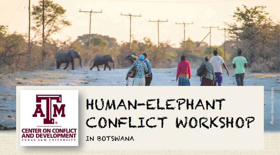 Human-Elephant Conflict Workshop in Botswana